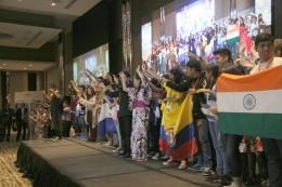 17.05.09/GNRC 開会式 事前子ども会議に参加した子どもらによる発表 /佐原�D.JPG
