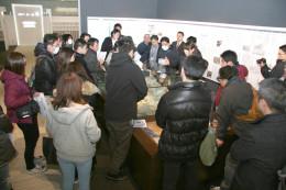 18.02.10-11/東北復興Fツアー�@コミュタン原発模型/隈元.JPG